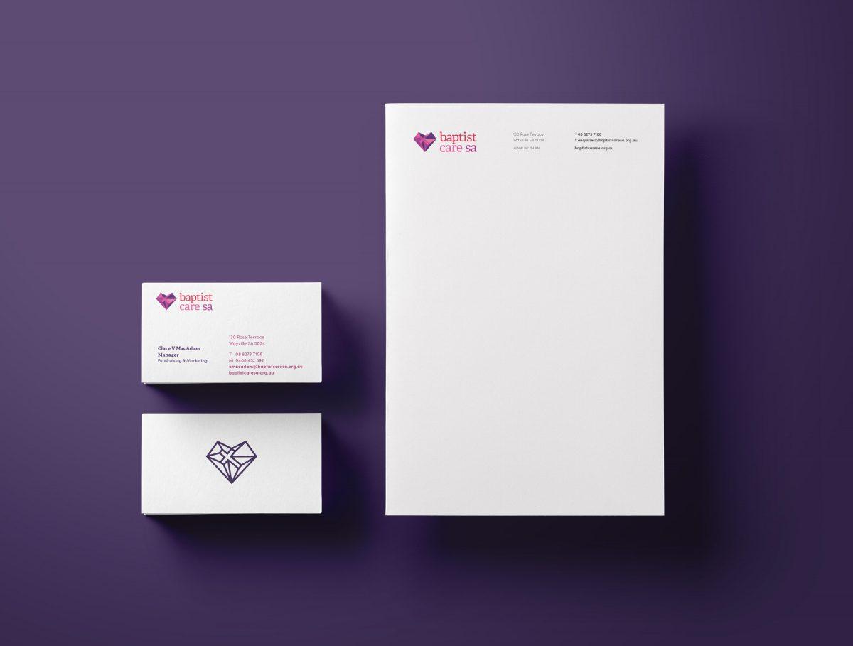 Baptist Care SA Stationary Design