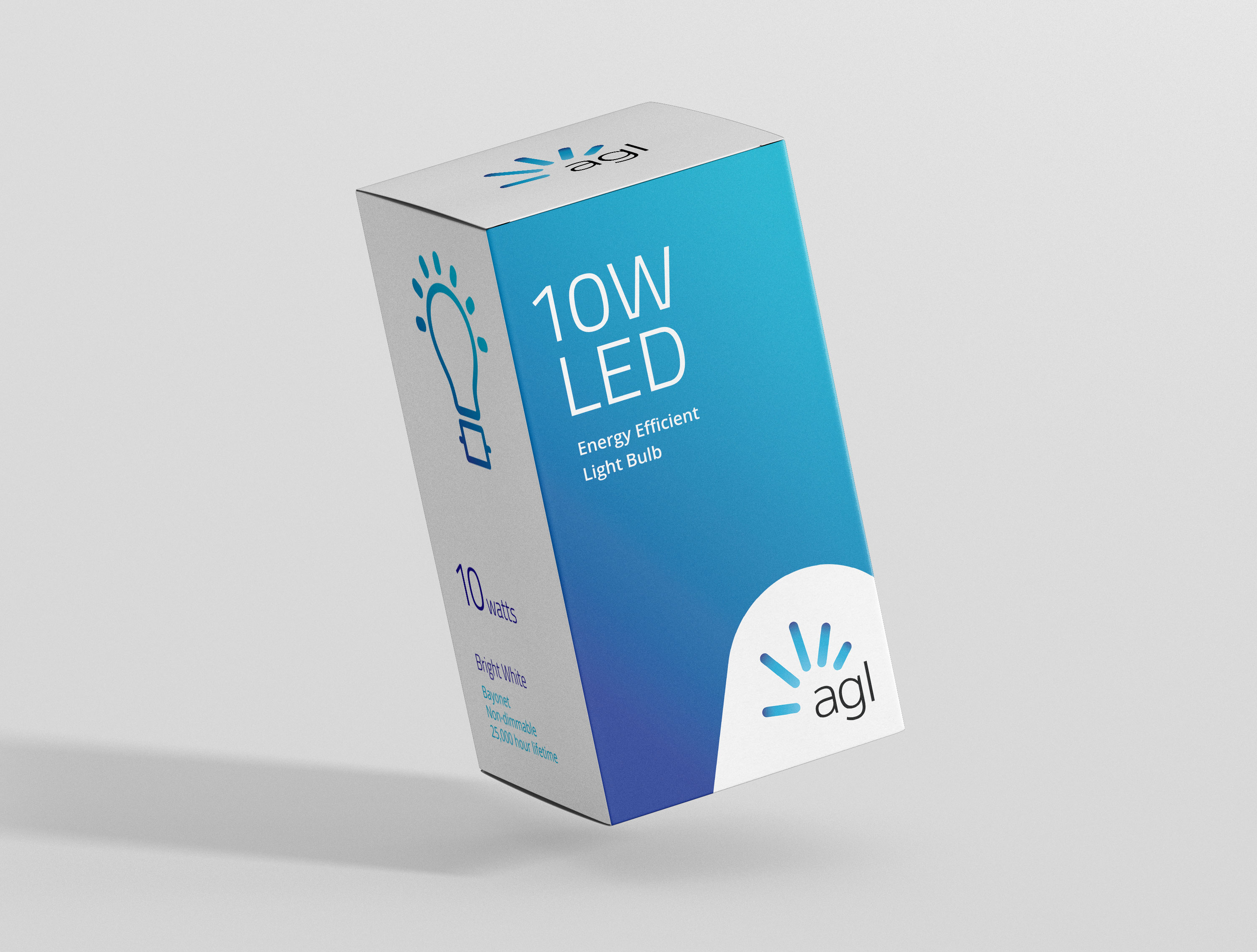 AGL Lightbulb Package Design