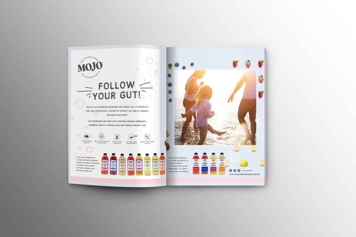MOJO Beverages Press Ad