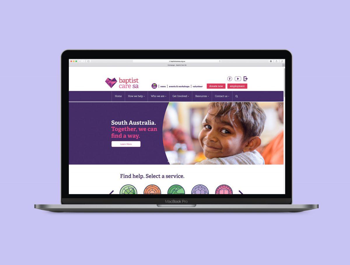 Baptist Care SA Website Development