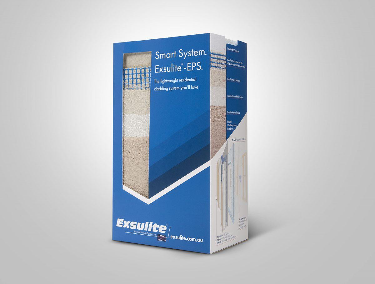 Dulux Exsulite Packaging
