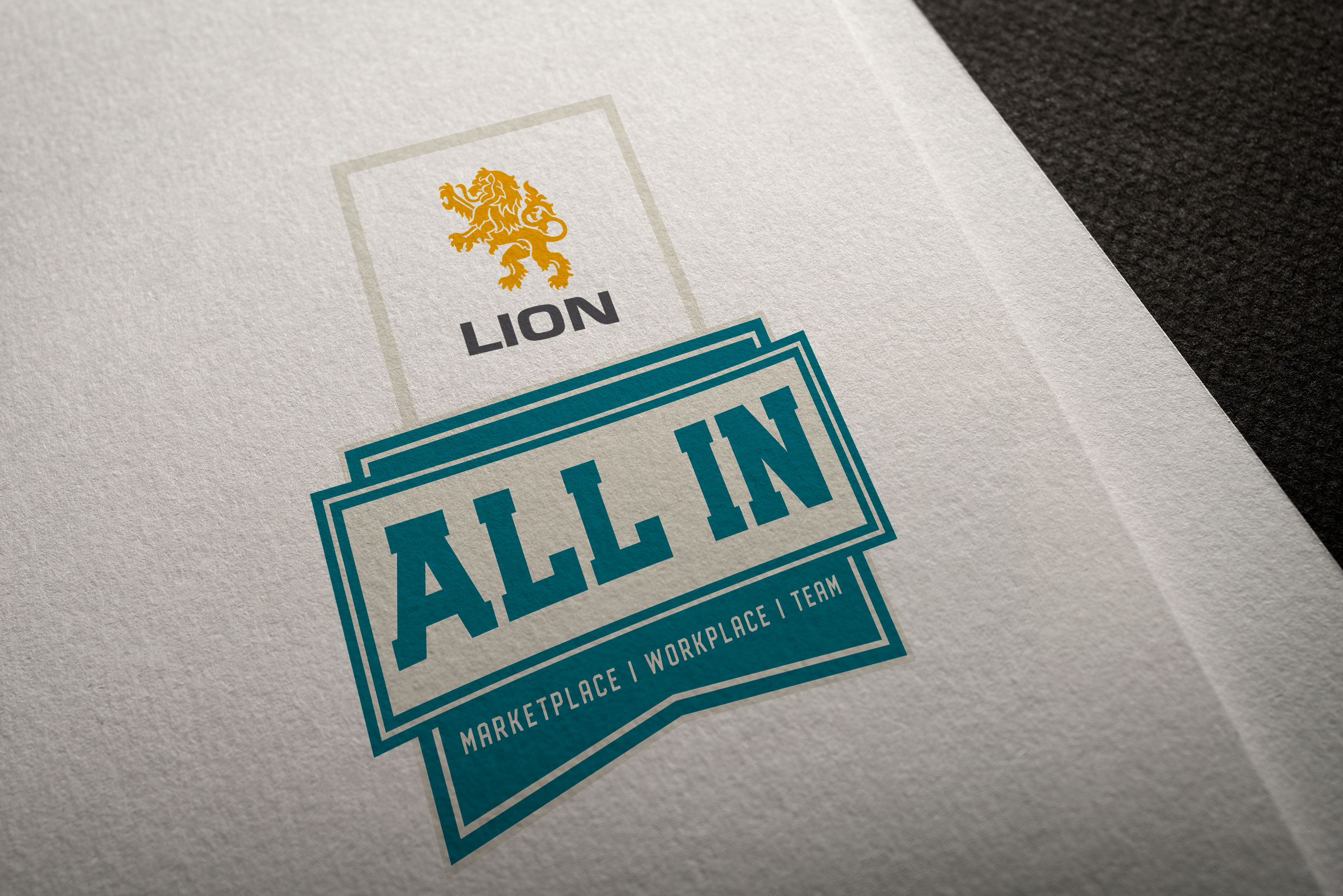 Lion All In Logo