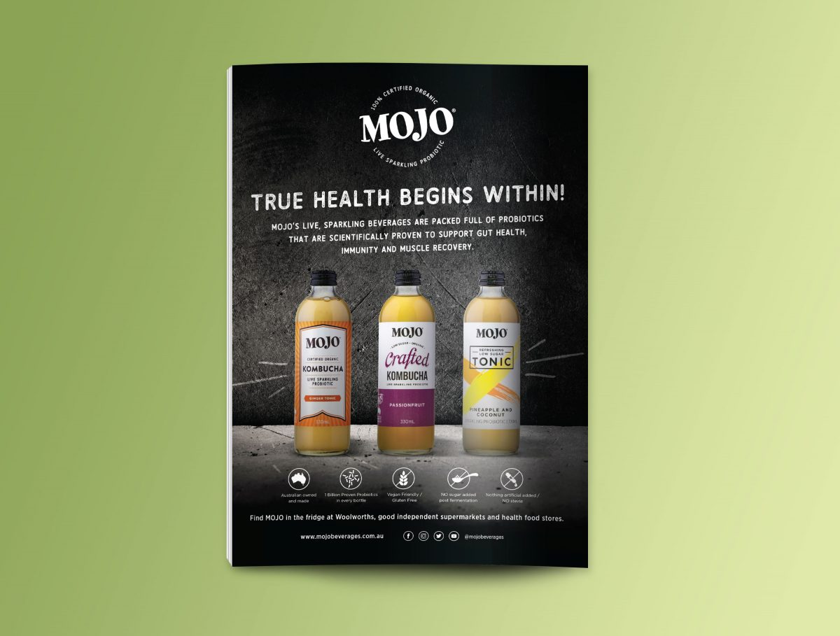 MOJO Kombucha Press Ad