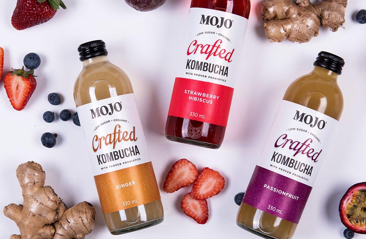 MOJO Kombucha Labels