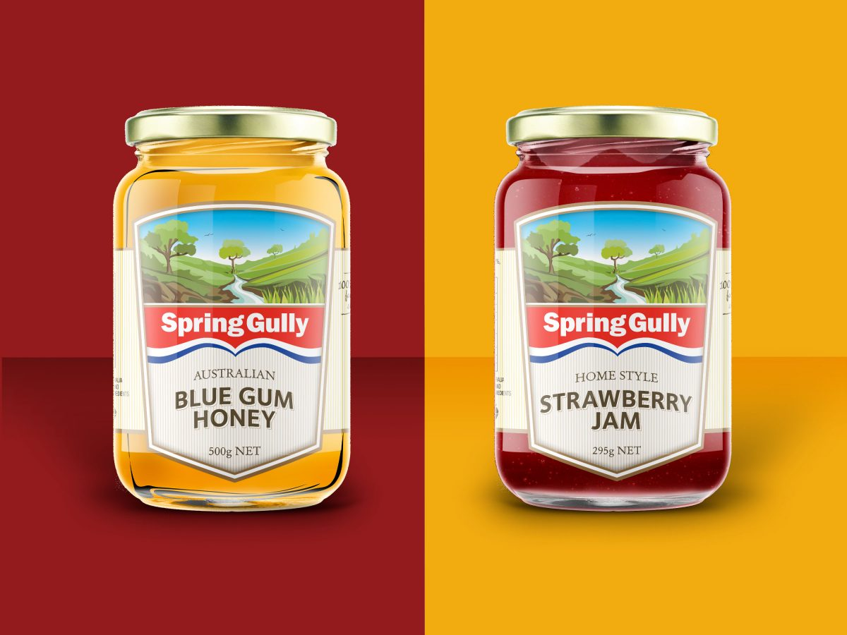 Spring Gully Packaging Design