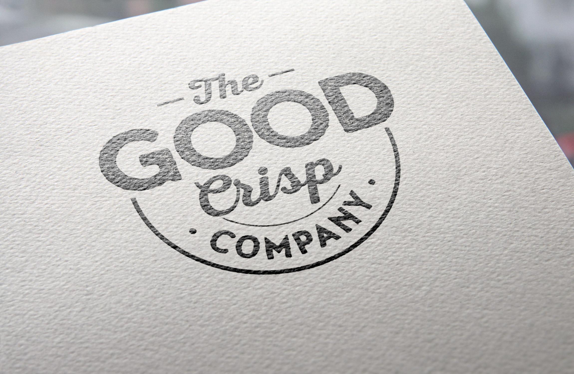 The Good Crisp Co Branding Development