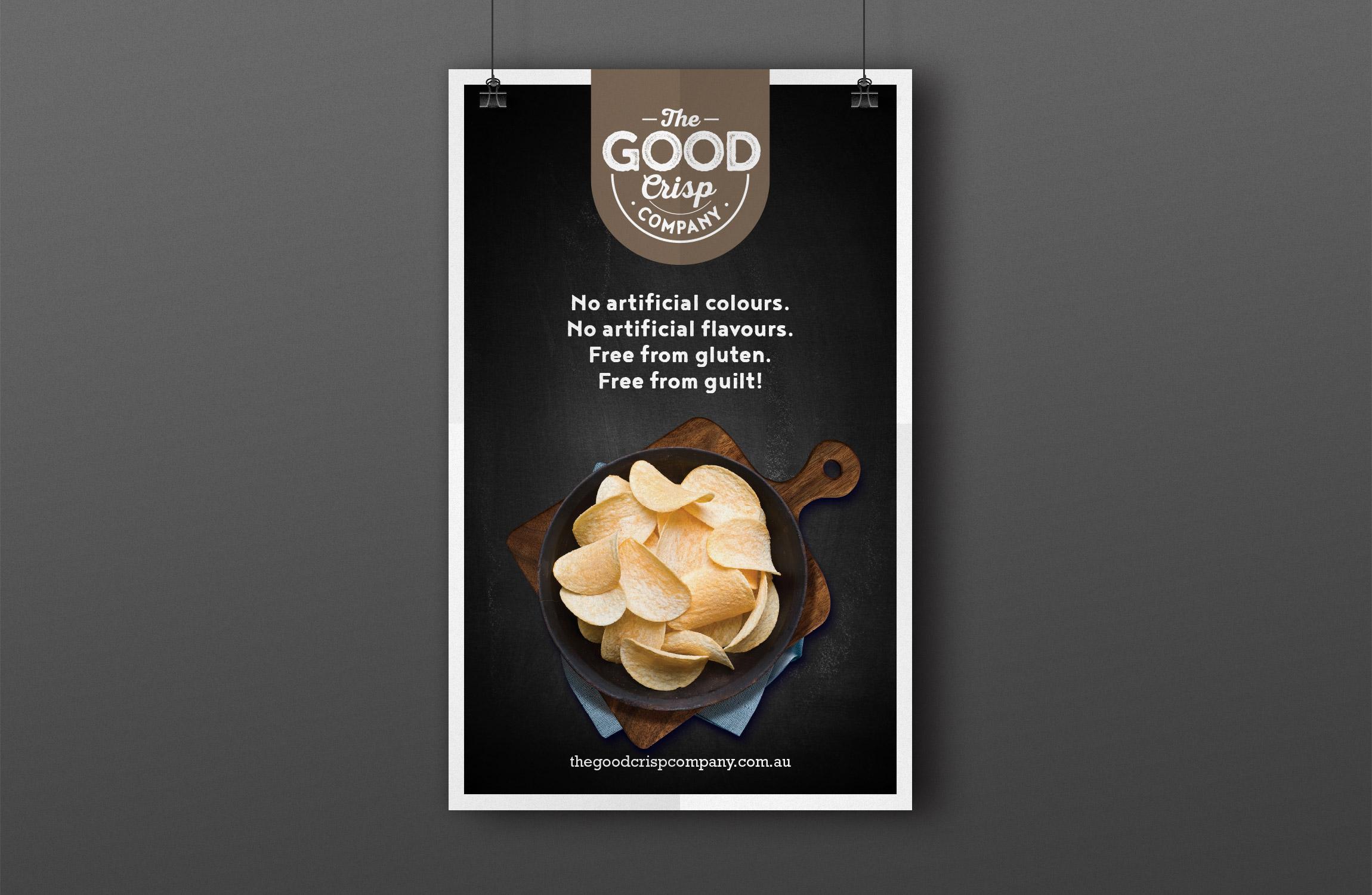 The Good Crisp Co Poster