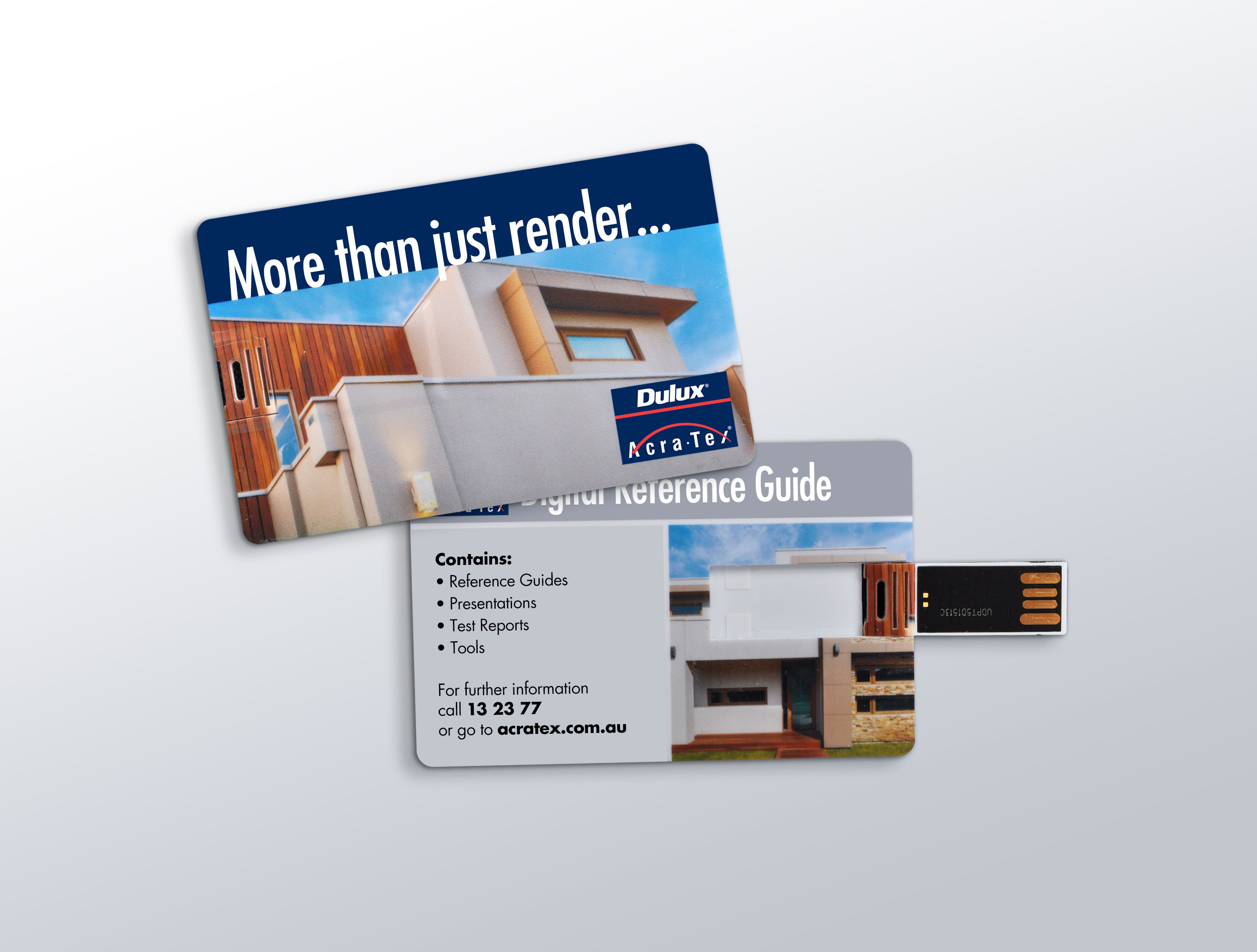 Dulux Acratex USC Cards