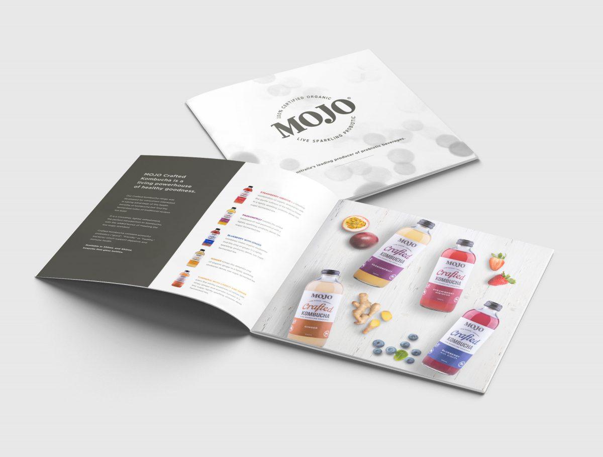 MOJO Kombucha Square Brochure