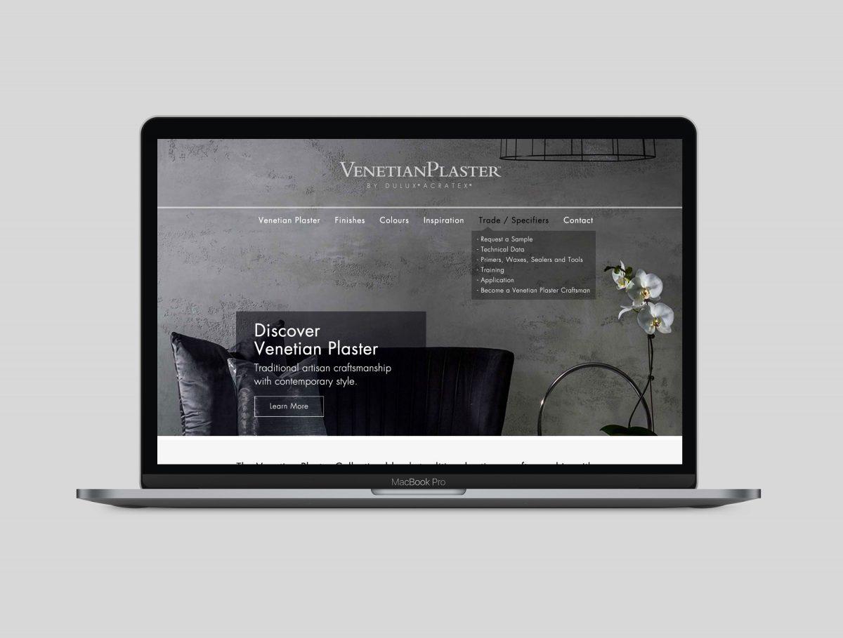 Venetian Plaster Website Design