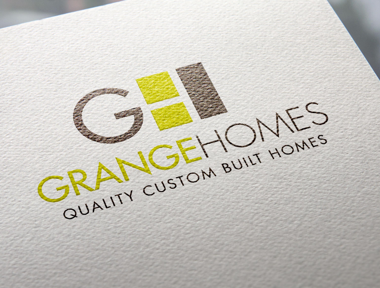 Branding Identity Logo Design Grange Homes