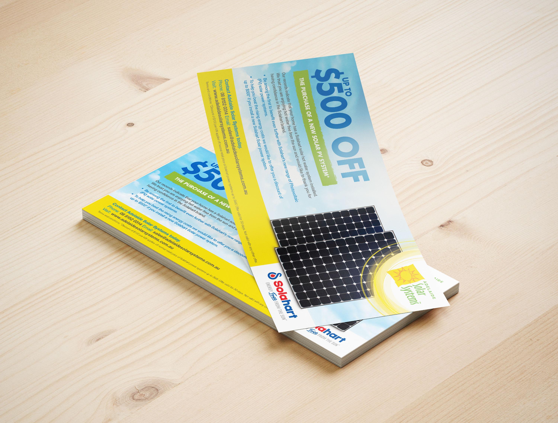 DL Flyer Design Adelaide Solar Systems