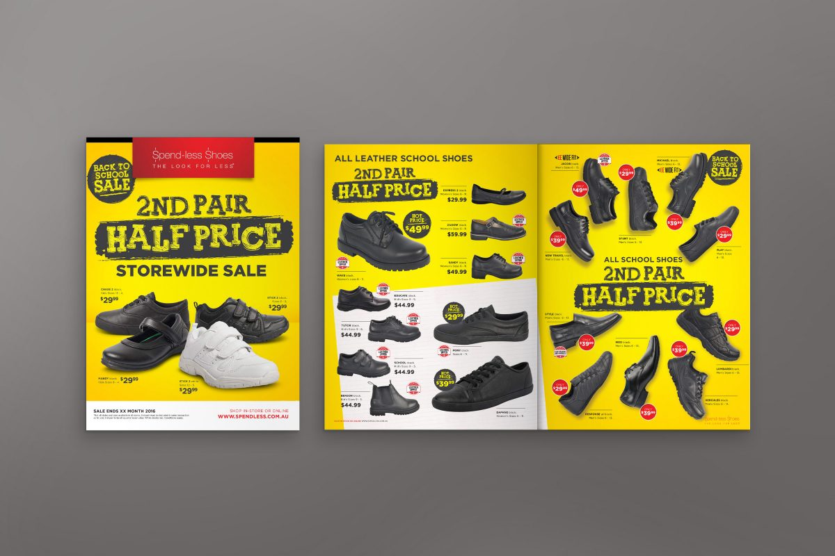 Spendless Shoes Catalogue