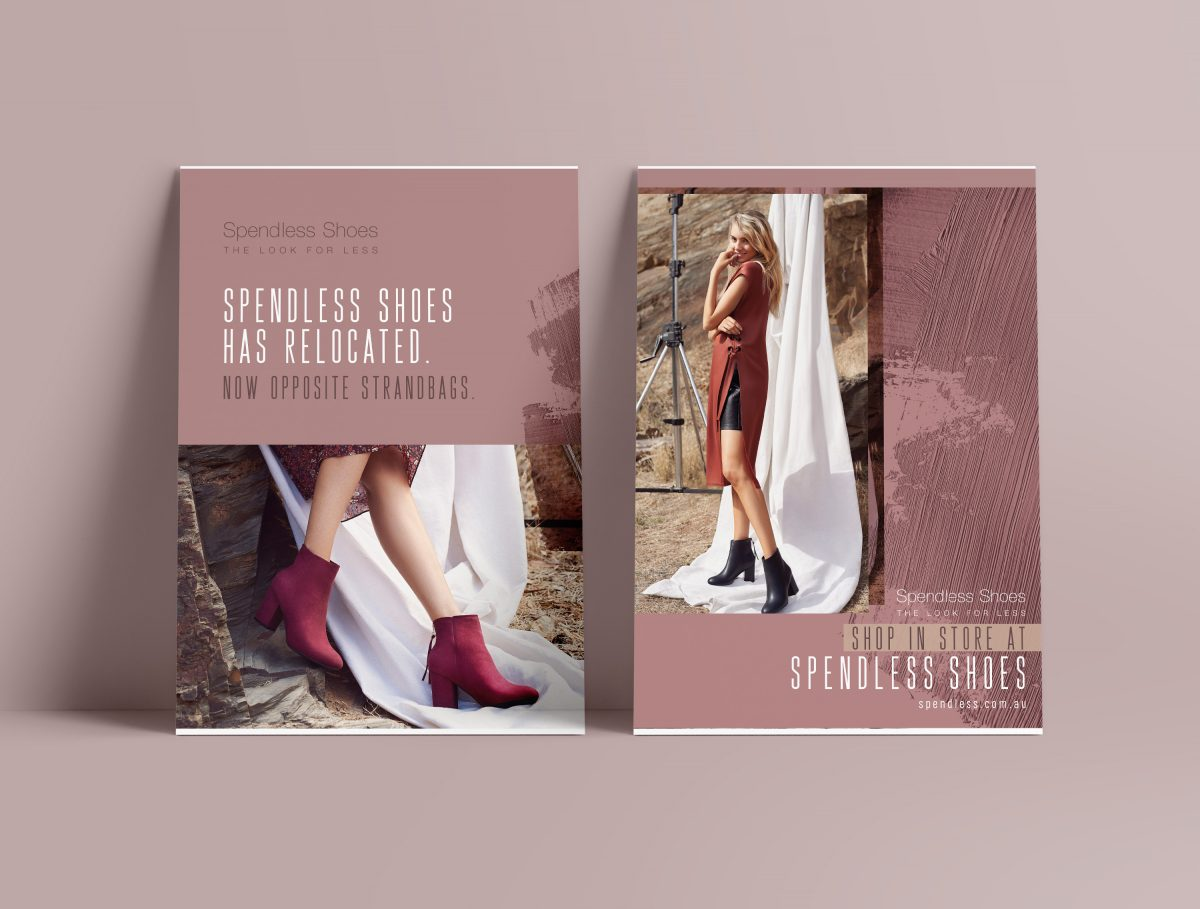 Spendless Shoes Poster