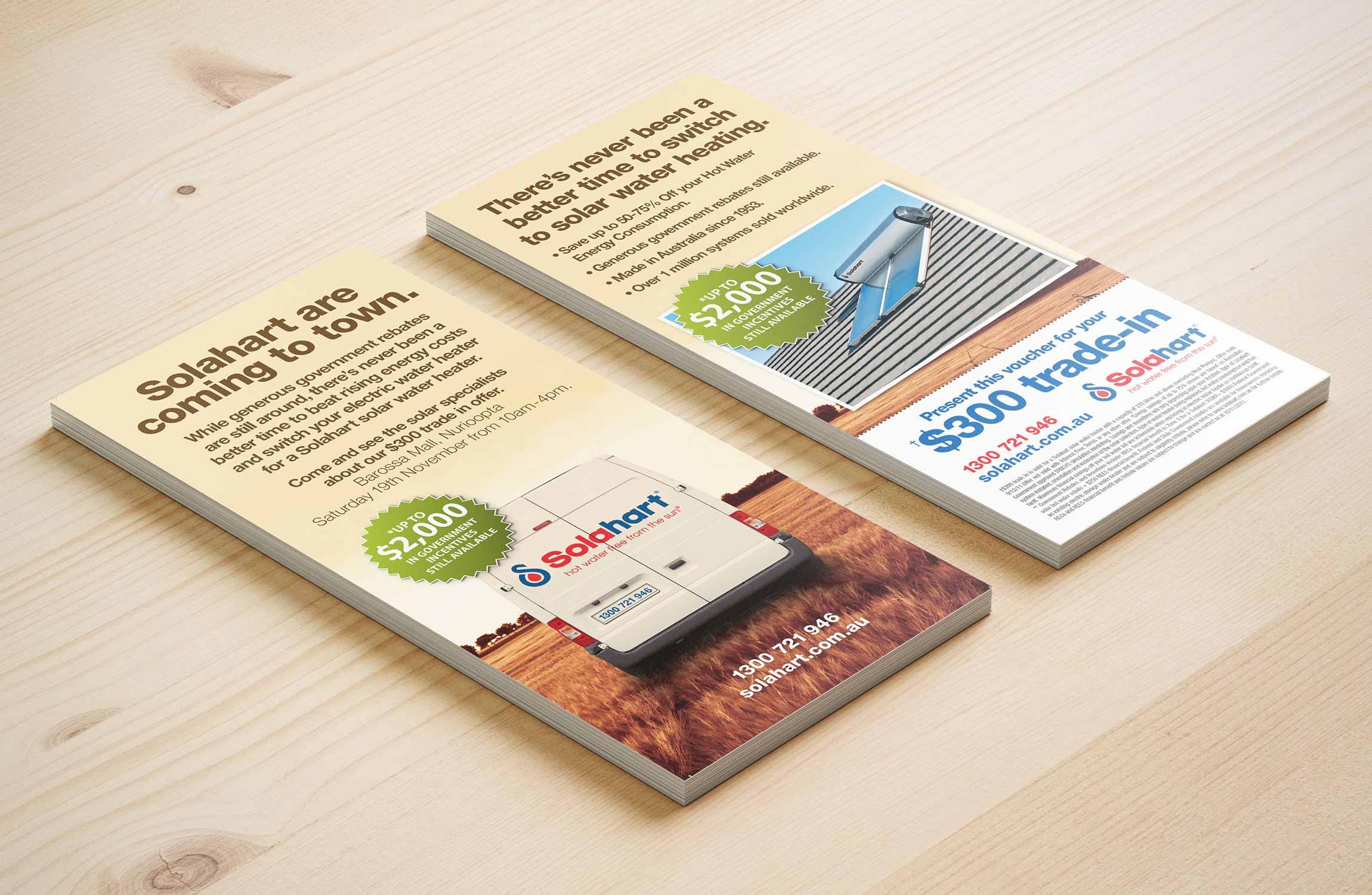Solahard DL Flyer Design