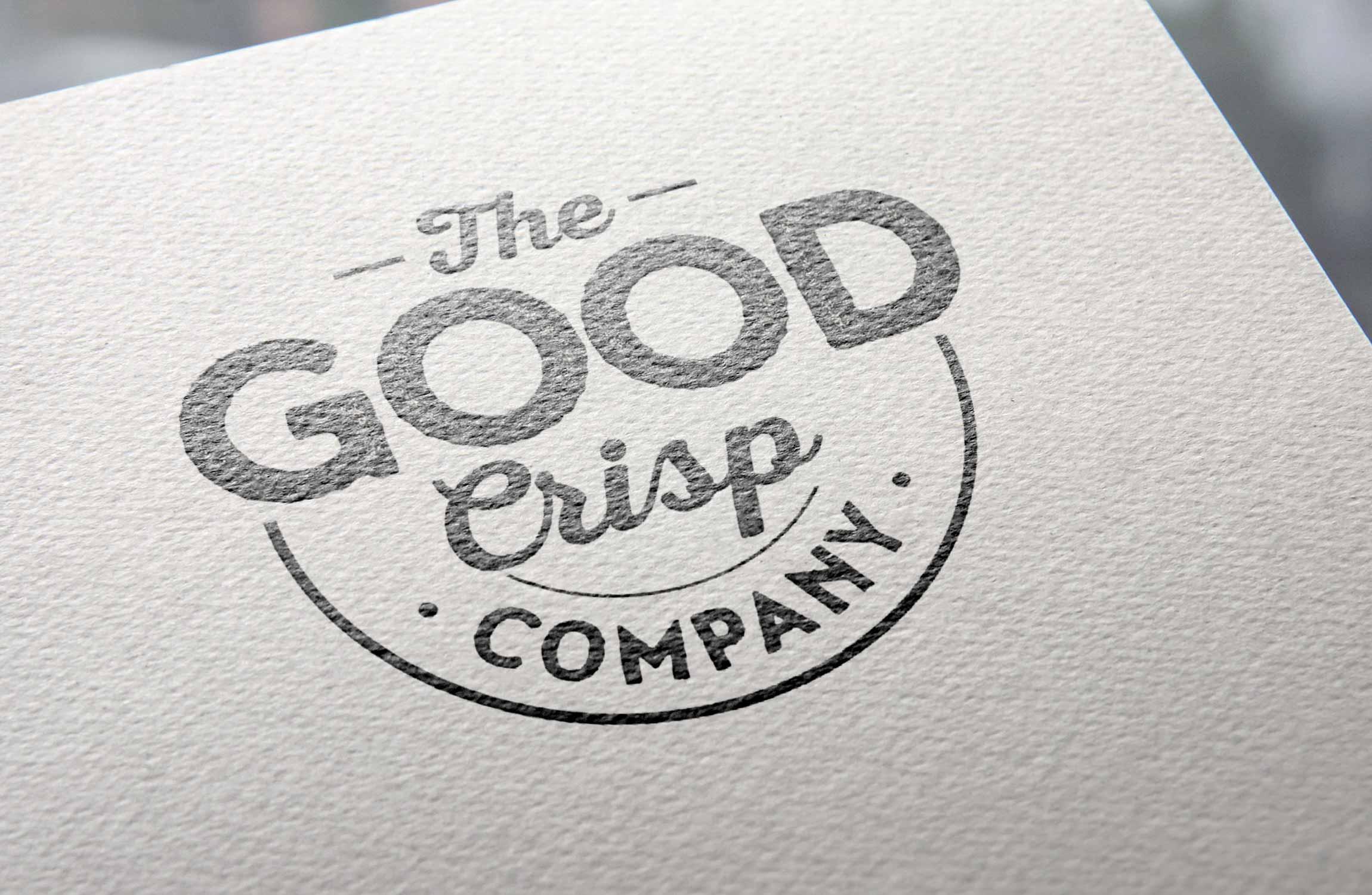 The Good Crisp Co Branding