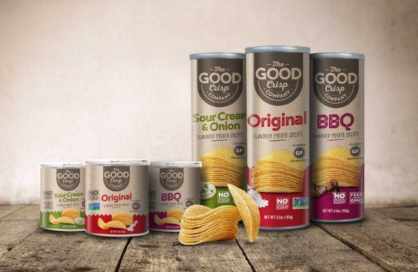 The Good Crisp Co Packaging Design